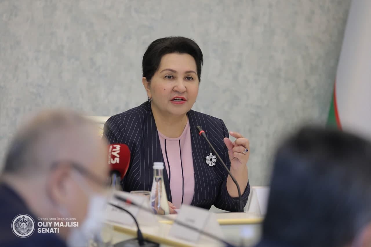 Танзила Нарбаева рассказала про искоренение торговли людьми и принудительного труда в Узбекистане