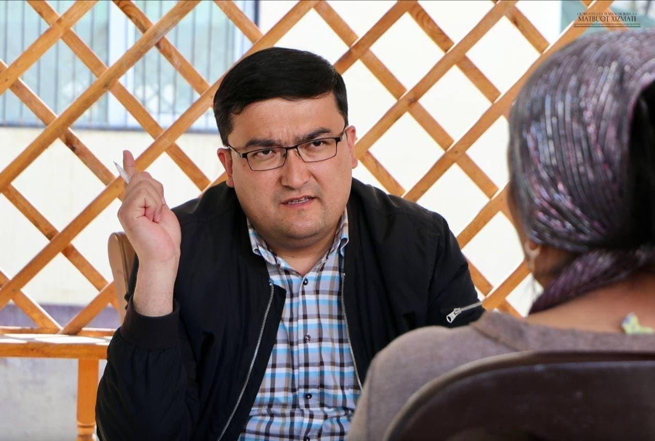 В Андижанской области районного прокурора Сардора Ражаббаева освободили от должности