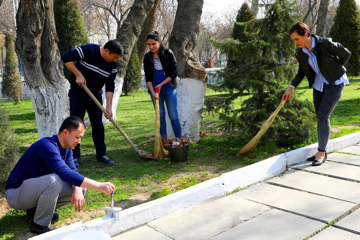 Стало известно, сколько потратили в Узбекистане на субботний хашар