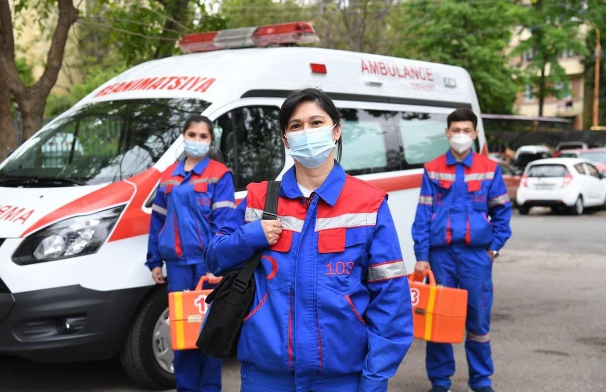 В Узбекистане количество врачей скорой помощи достигло почти четырнадцать тысяч