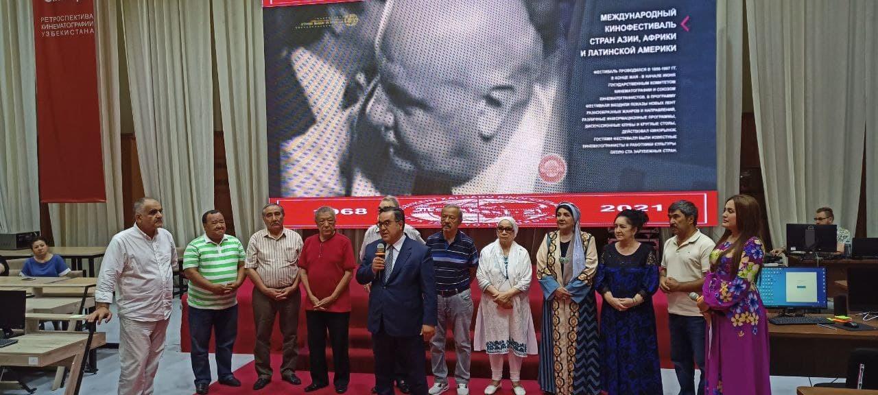 В Ташкенте прошла встреча с группой международного кинофестиваля «Жемчужина Шелкового пути»