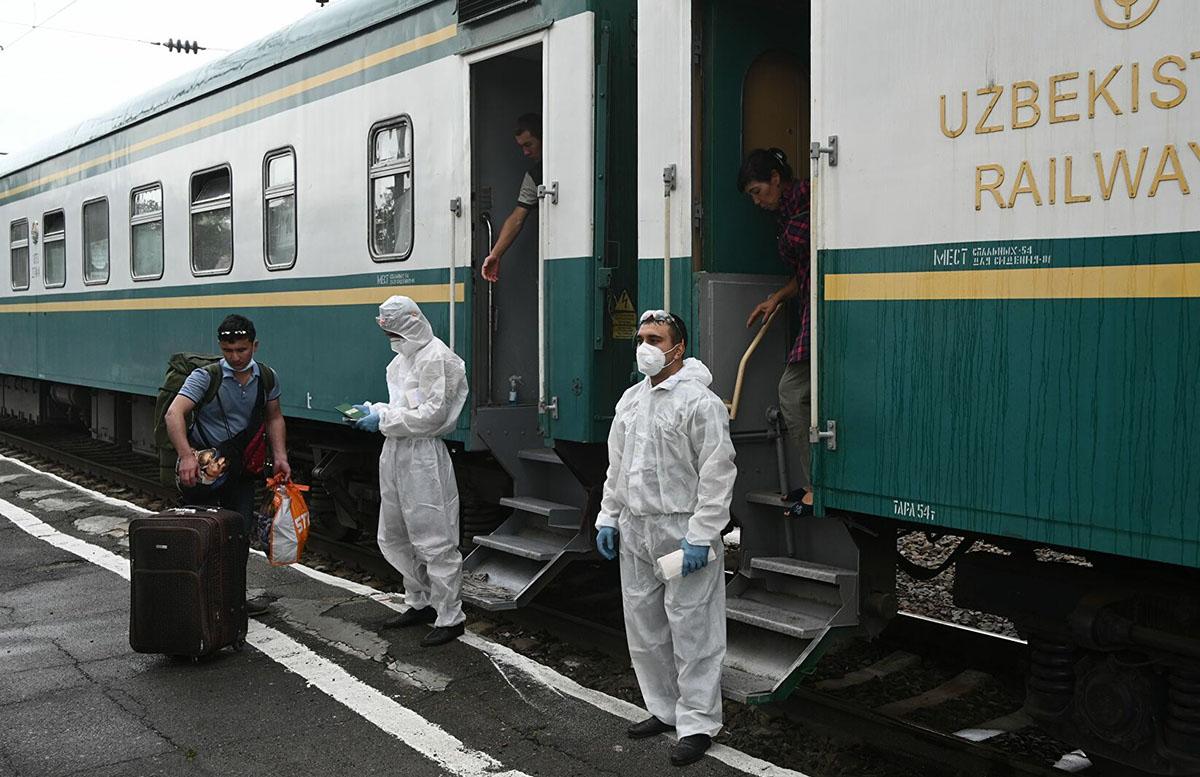 С Узбекистана отправят два поезда в Россию для невернувшихся домой из-за пандемии