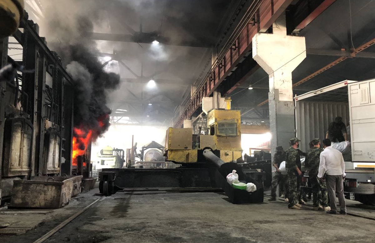В Ташкенте сожгли почти полторы тонны наркотиков — видео