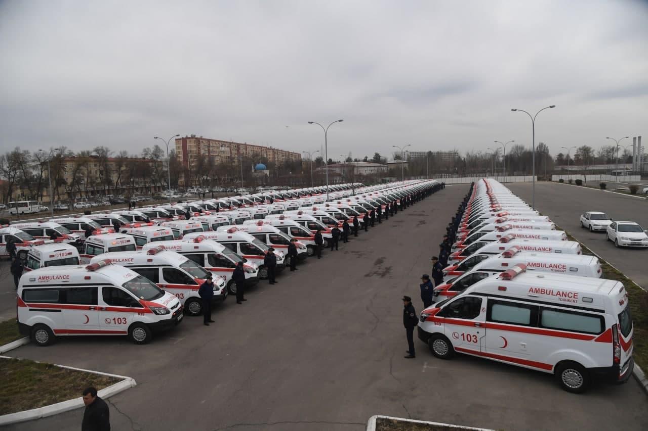 За 2021 год количество мобильных бригад «скорой помощи» превысило 2500