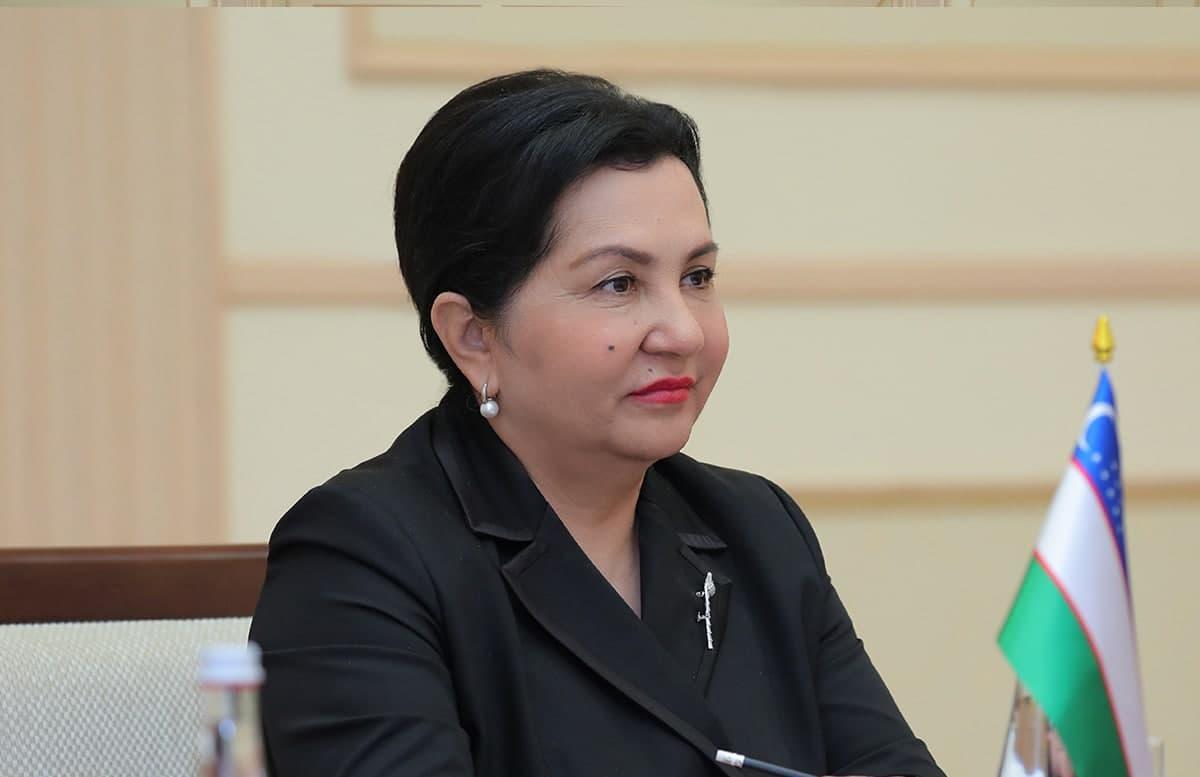 Танзила Нарбаева приняла Спецпредставителя ЕС по Центральной Азии Тери Хакалу