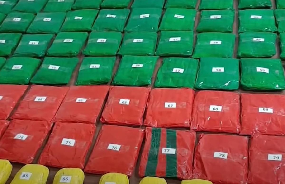 В Узбекистан пытались ввезти почти 100кг наркотических средств
