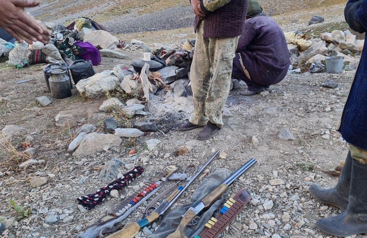 В Гиассарском государственном заповеднике поймали браконьеров