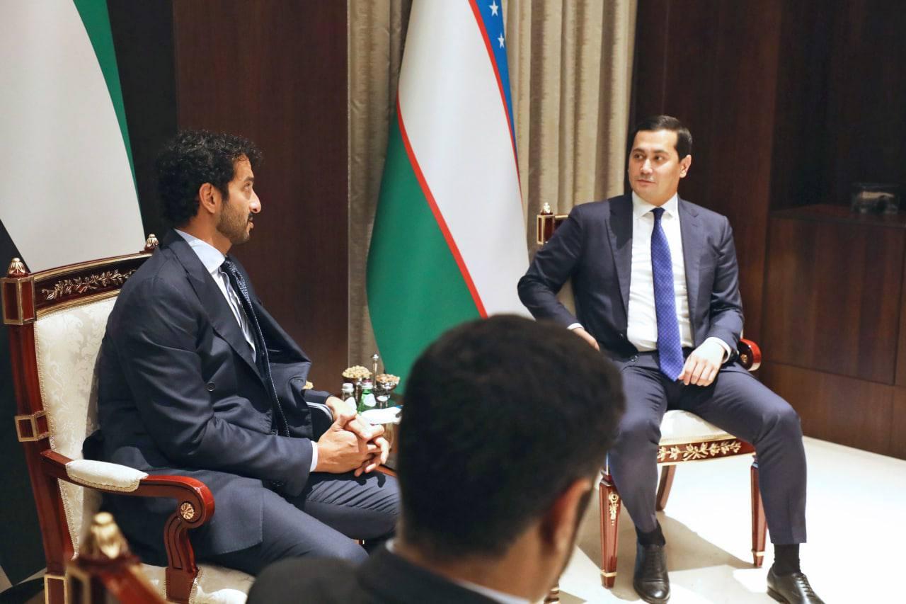 Обсуждены перспективы расширения торгово-экономического и инвестиционного сотрудничества между Узбекистаном и ОАЭ