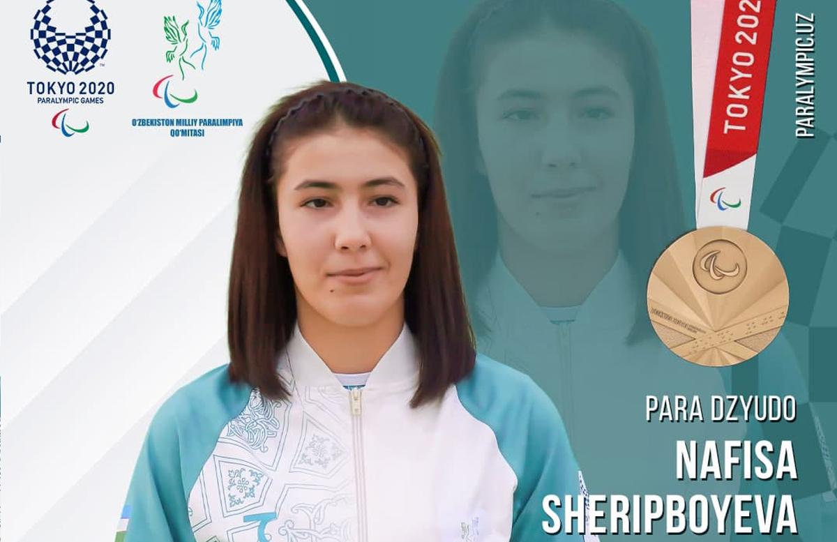 Пара-дзюдоистка Нафиса Шерипбоева завоевала бронзовую медаль