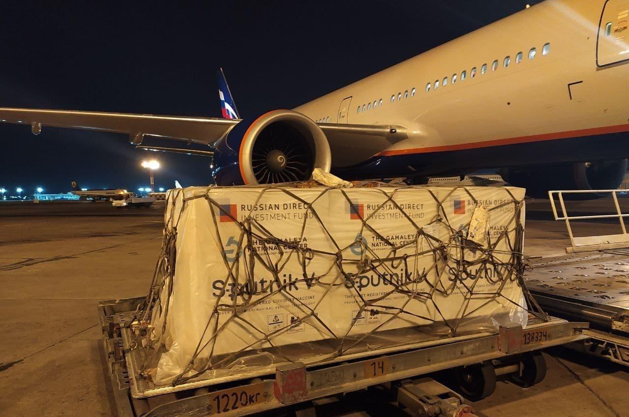 В Узбекистан прибыла второй компонент вакцины «Спутник V»
