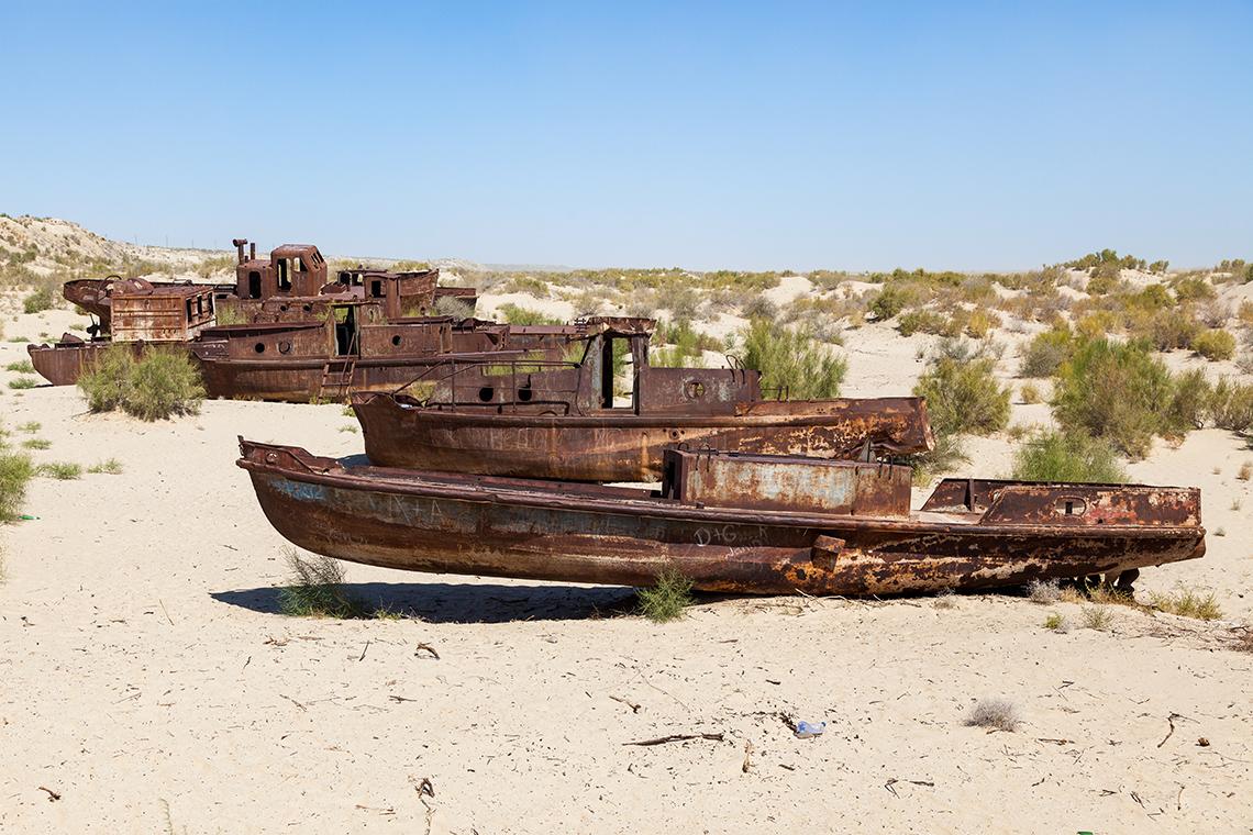 В Узбекистане сняли клип о катастрофе Аральского моря — фото