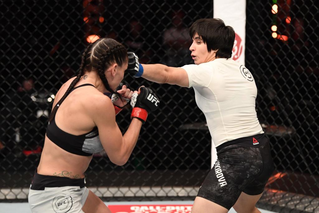 Боец UFC из Узбекистана Лилия Шакирова попалась на допингe