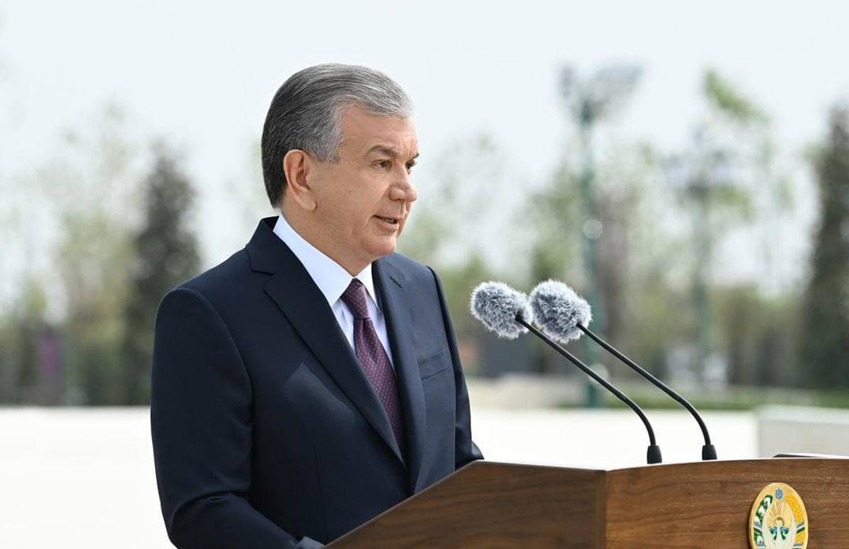 «Мы больше не будем строить в Ташкенте, мы превратим Ташкент в зеленую зону», — Шавкат Мирзиеев