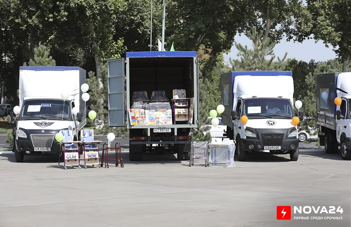 МДО передало оборудование для детей с особыми потребностями по всей республике — фото