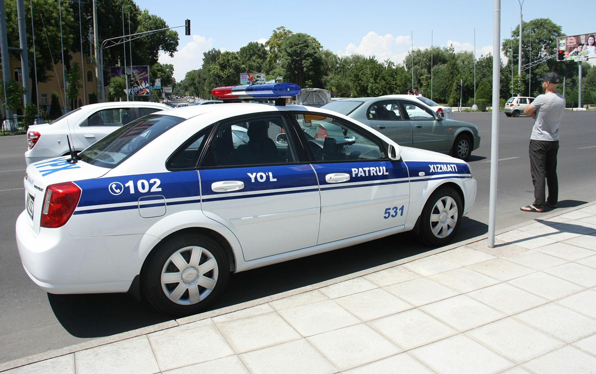 Узбекистанцам напомнили об ответственности за несанкционированные автопробеги