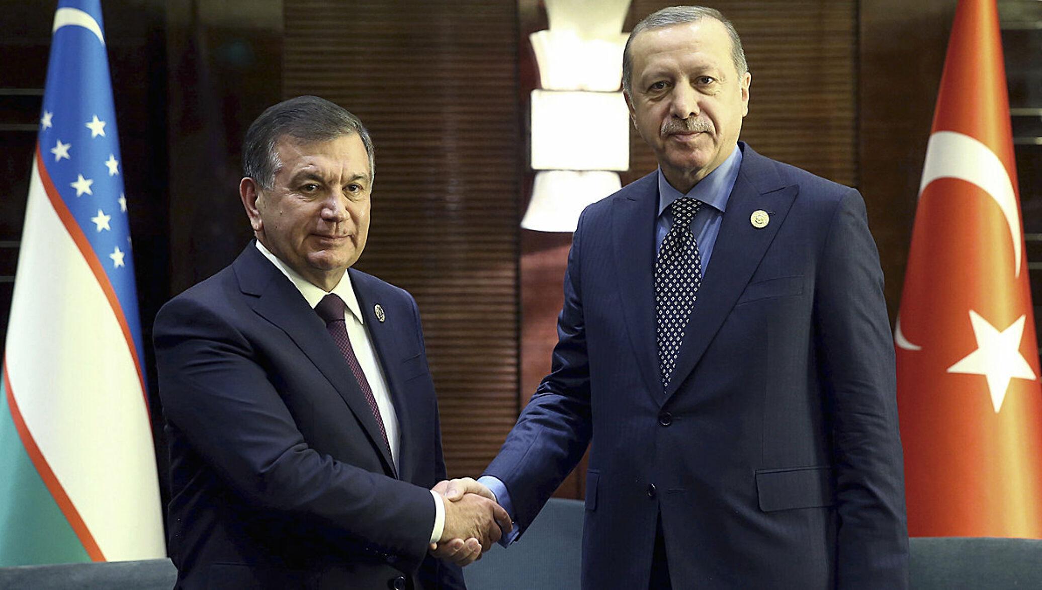 Президент Турции поздравил Шавката Мирзиёева и народ Узбекистана с 30-летием Независимости