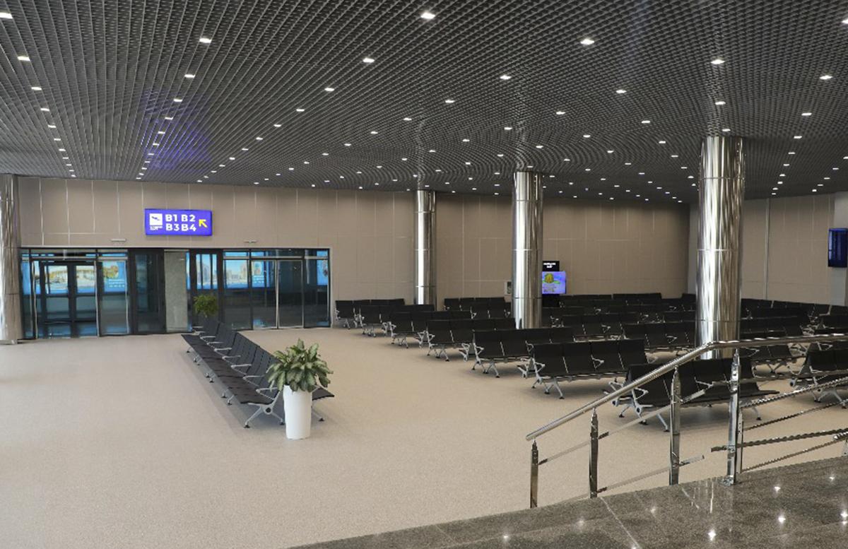 В международном аэропорту Ташкента появился новый зал для вылета