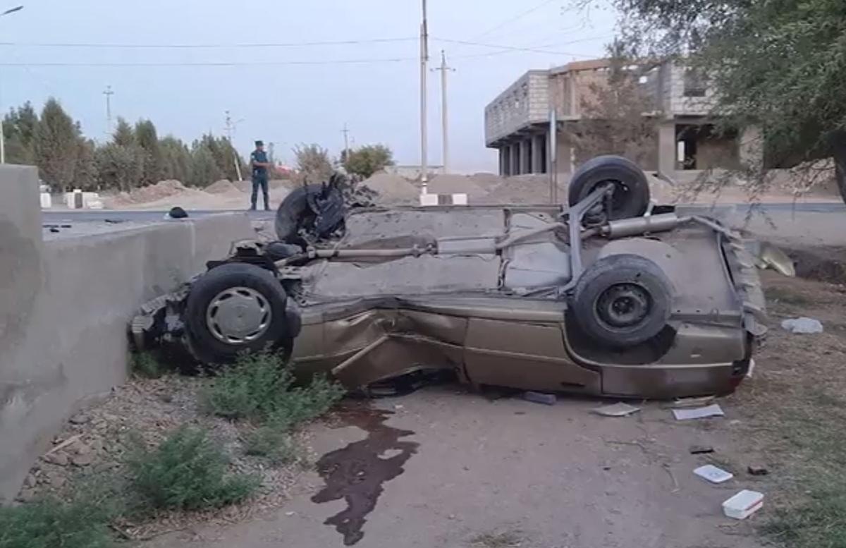 В Сурхандарье Matiz перевернул автомобиль Nexia: есть погибшие