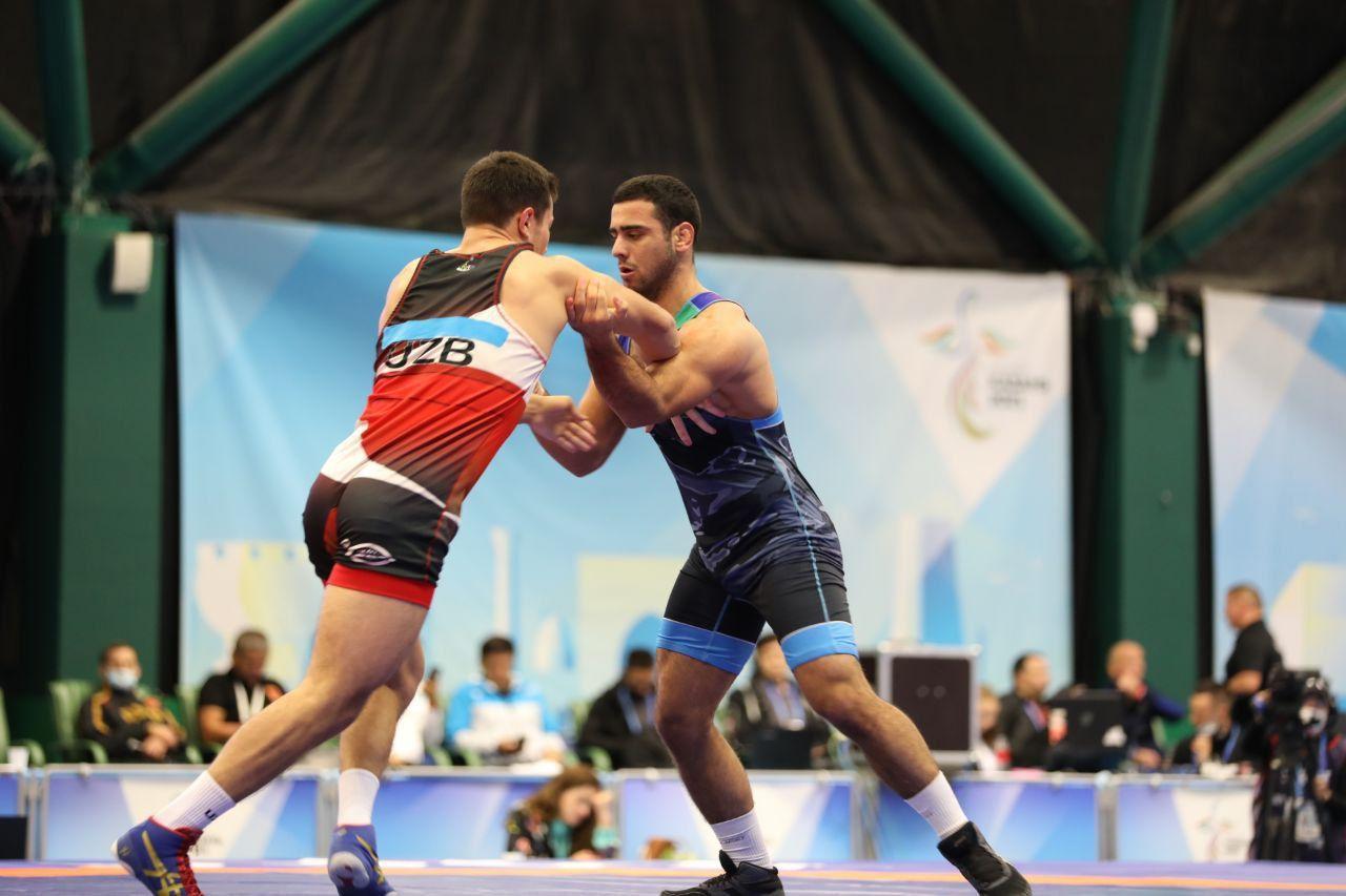 В первый день Игр СНГ узбекские греко-римские борцы завоевали четыре медали