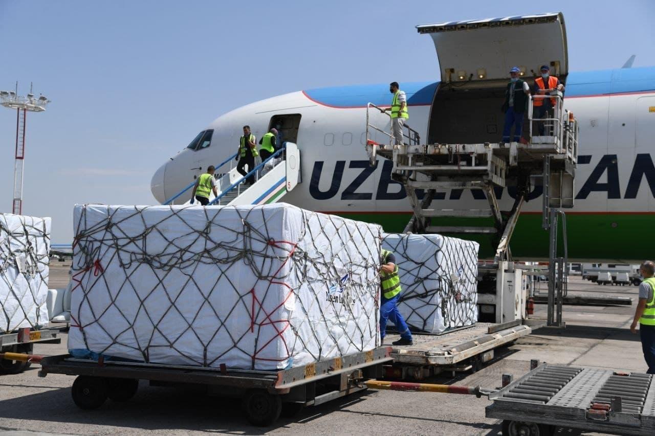 В Узбекистан прибыла 1,5 млн доз узбекско-китайской вакцины ZF-UZ-VAC2001
