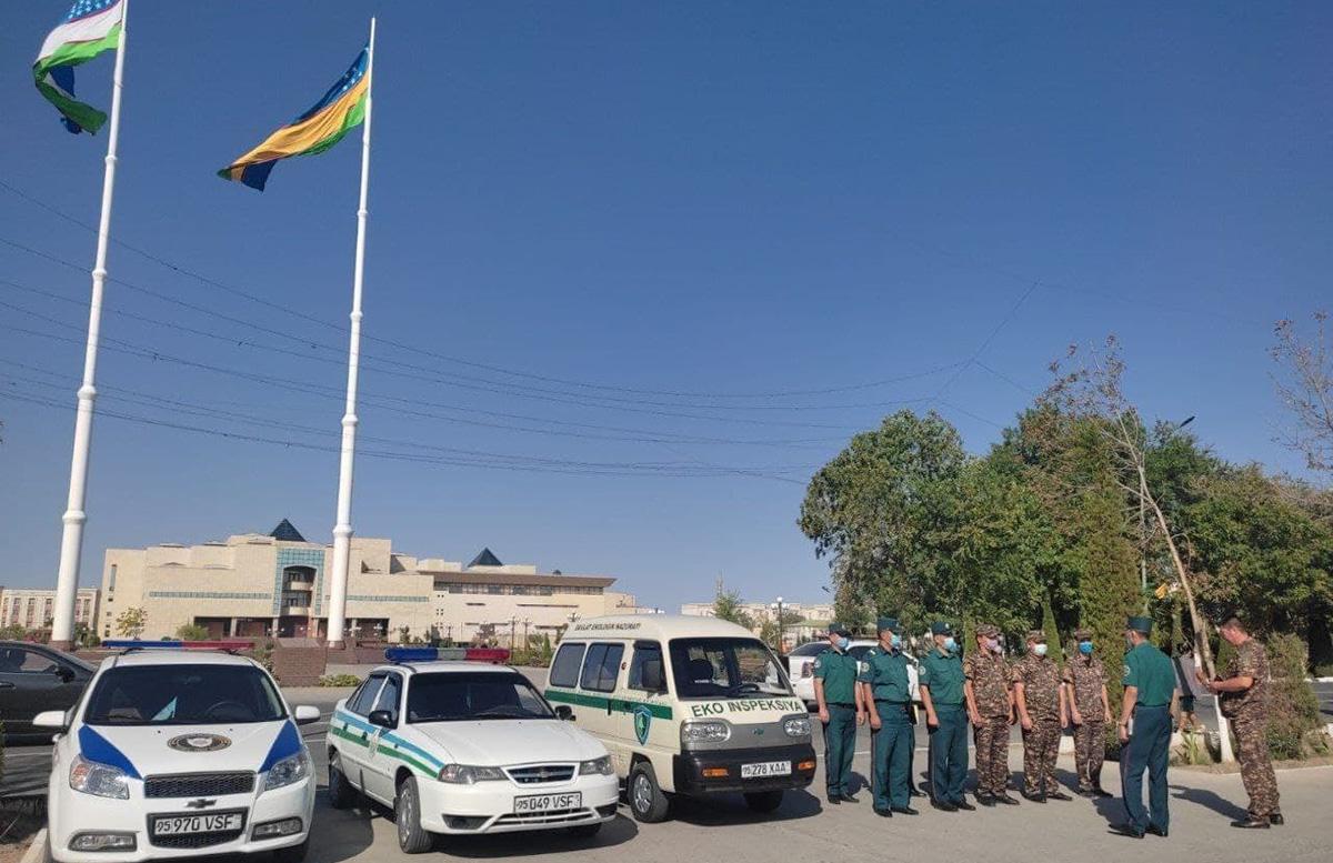 В МВД прояснили, как организовывается работа экологической полиции в Узбекистане