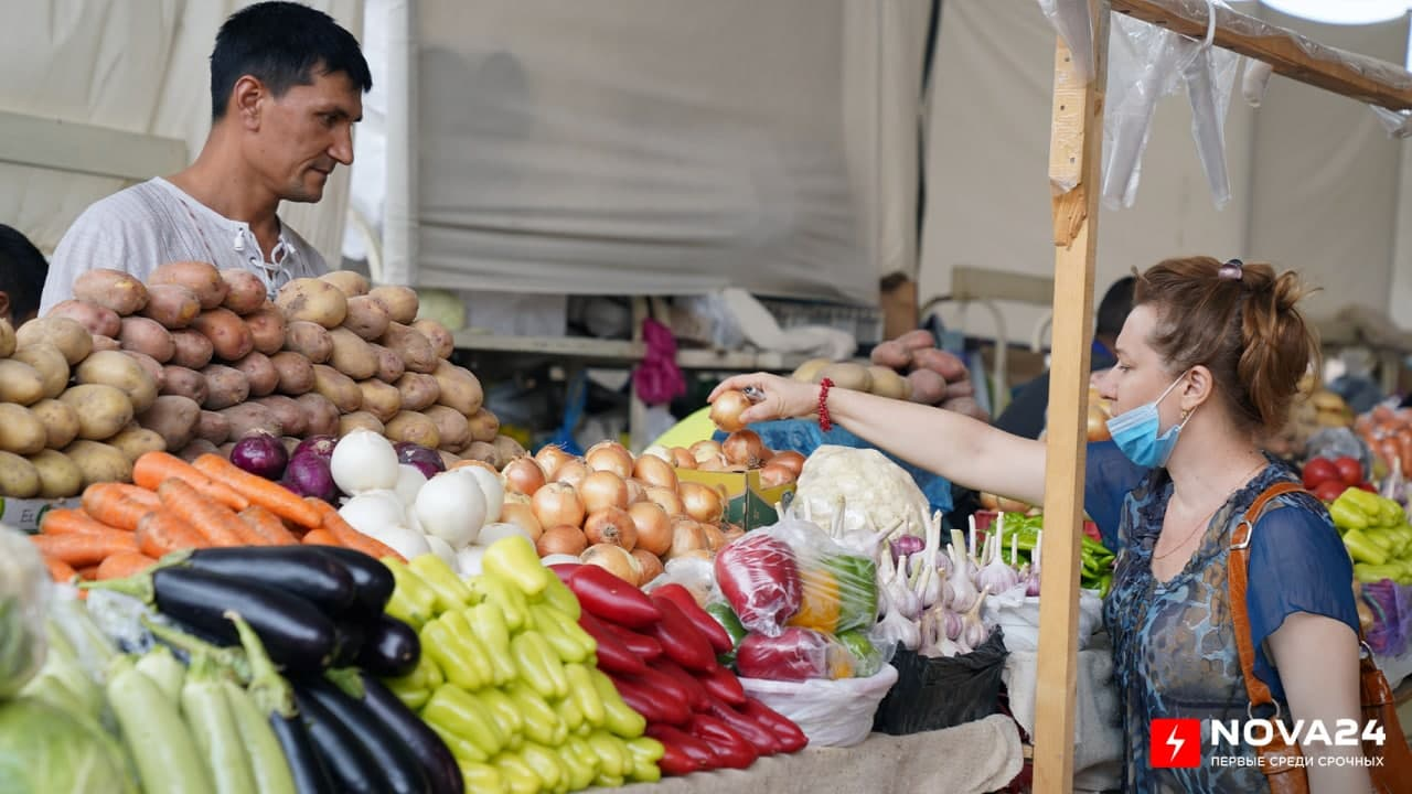За последние восемь месяцев в Узбекистане годовой рост цен на продукты питания достиг 15,5%