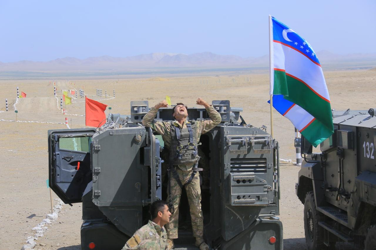Военные Узбекистана установили 10 рекордов на армейских играх «АрМИ–2021»