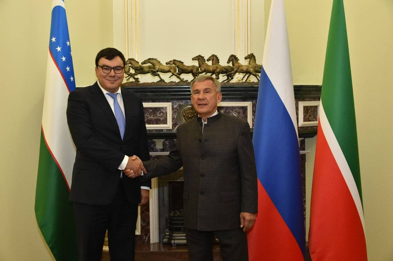Президент Татарстана принял делегацию Узбекистана