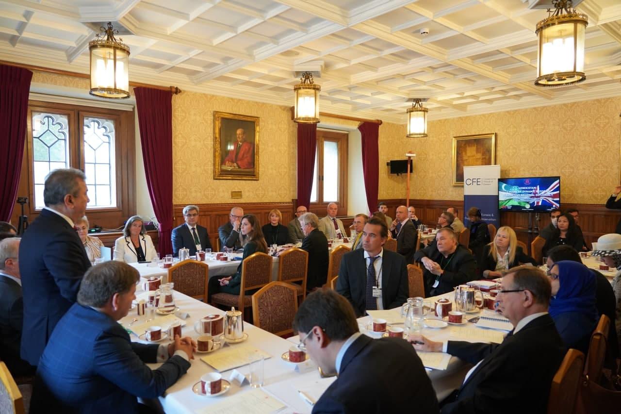 В Великобритании с участием делегации Узбекистана прошло мероприятие «Круглый стол»