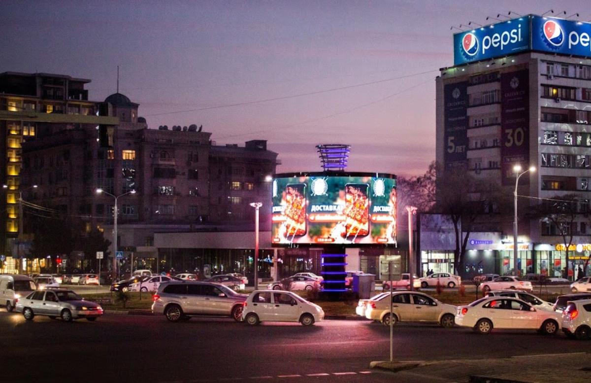 Кто отвечает за слишком яркие рекламные экраны на дорогах?