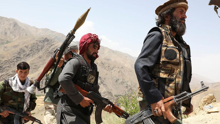 Талибы захватили в Панджшере большой склад с оружием