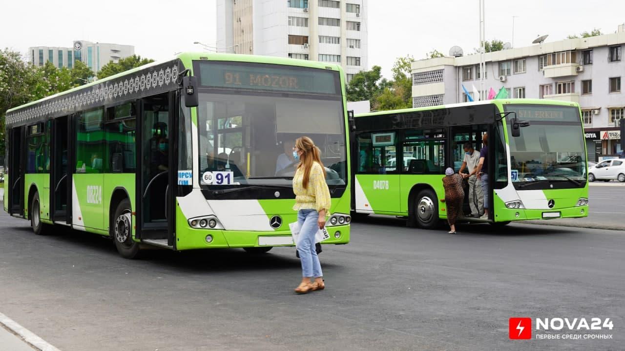 Названы самые загруженные автобусные маршруты столицы