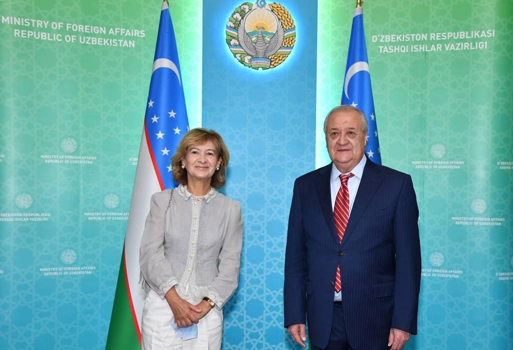 Абдулазиз Камилов принял представителя ОБСЕ по вопросам свободы СМИ