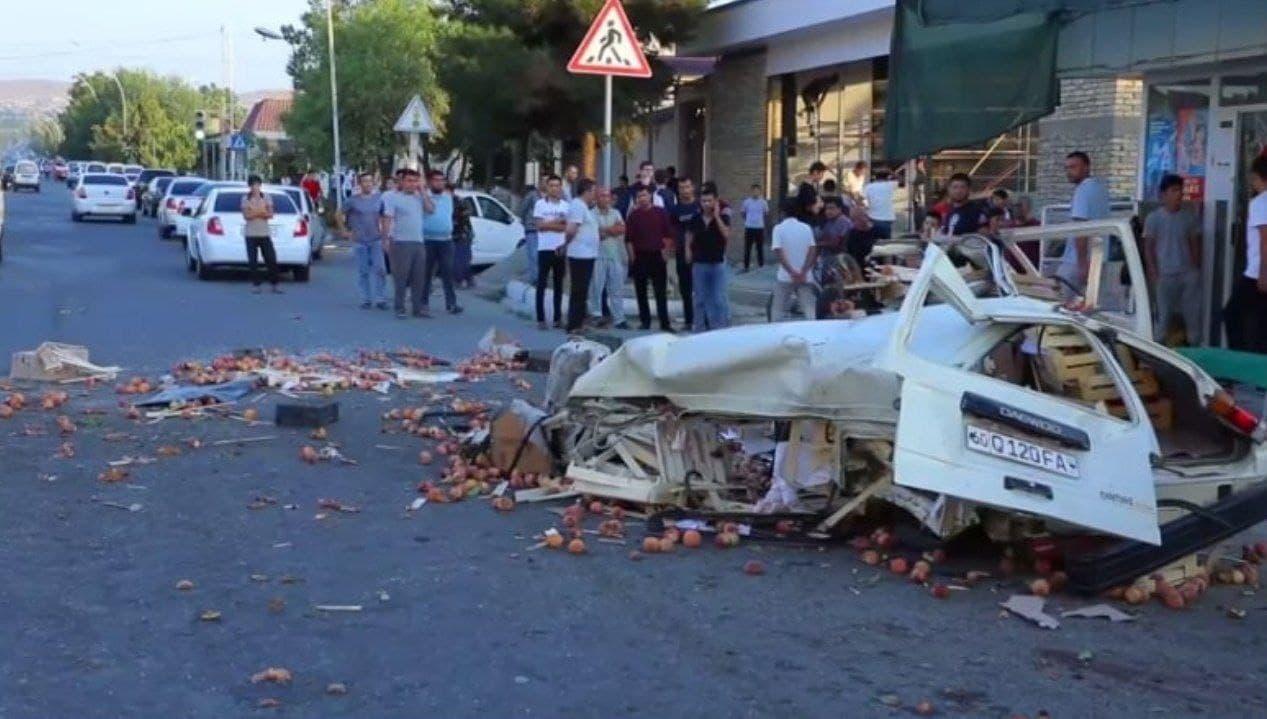 В Ташобласти автомобили Damas стали участниками каждой пятой аварии