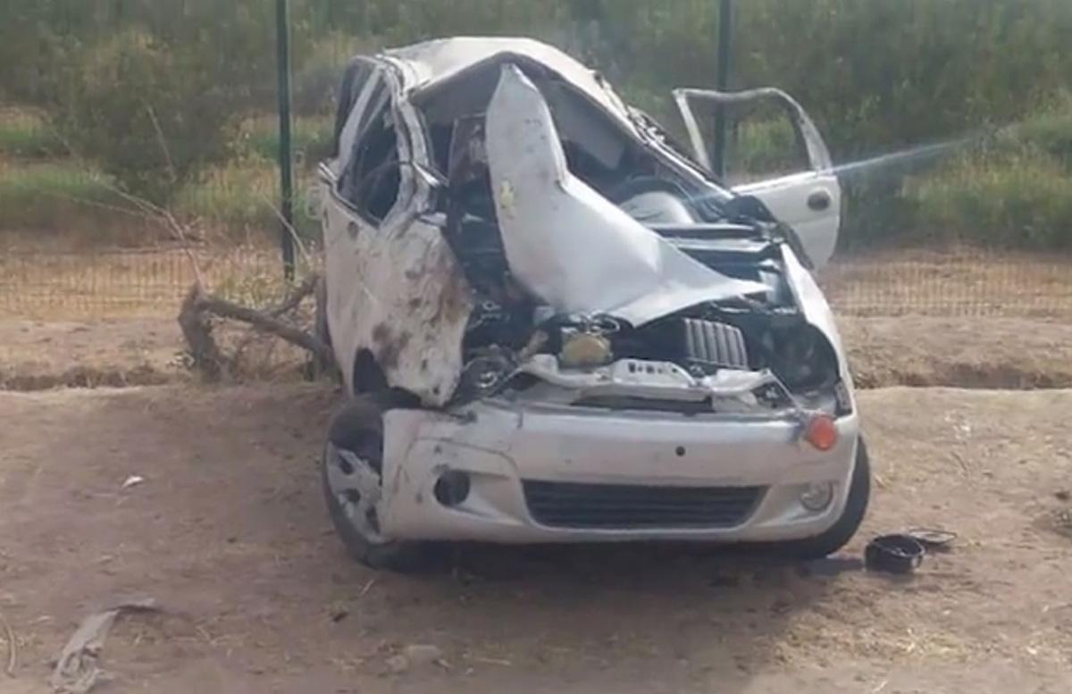 В Сурхандарье Matiz на большой скорости сбил 13-летнюю девочку и влетел в дерево