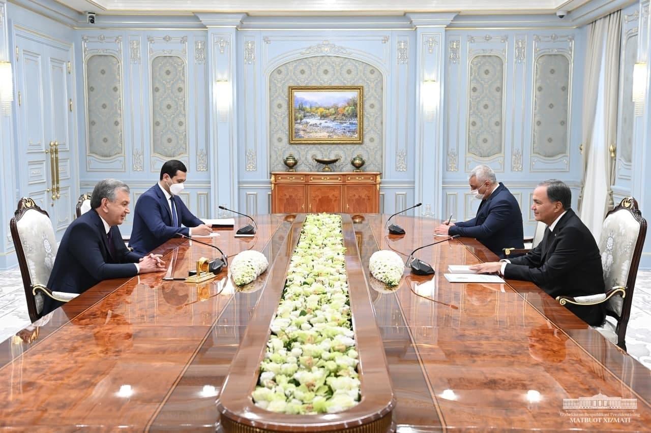 Президент принял зампреда Кабмина Туркменистана