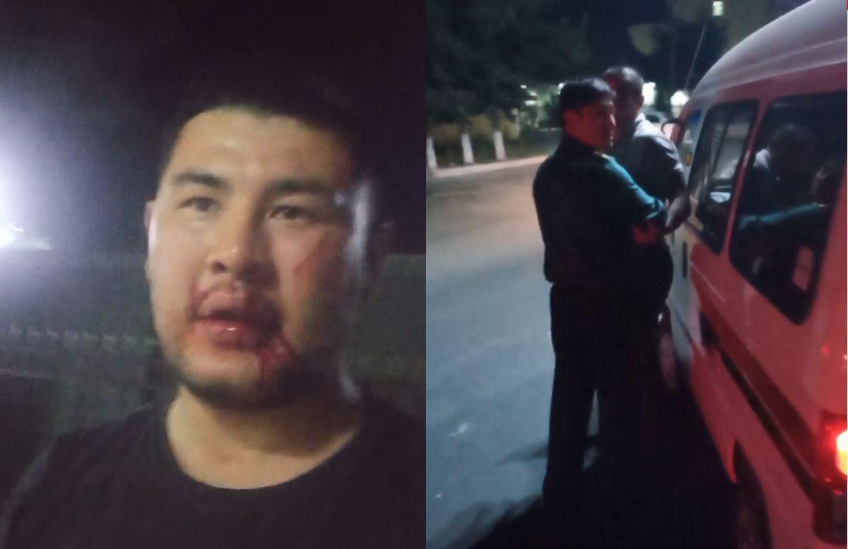 В Андижане сотрудники ОВД избили мужчину — видео