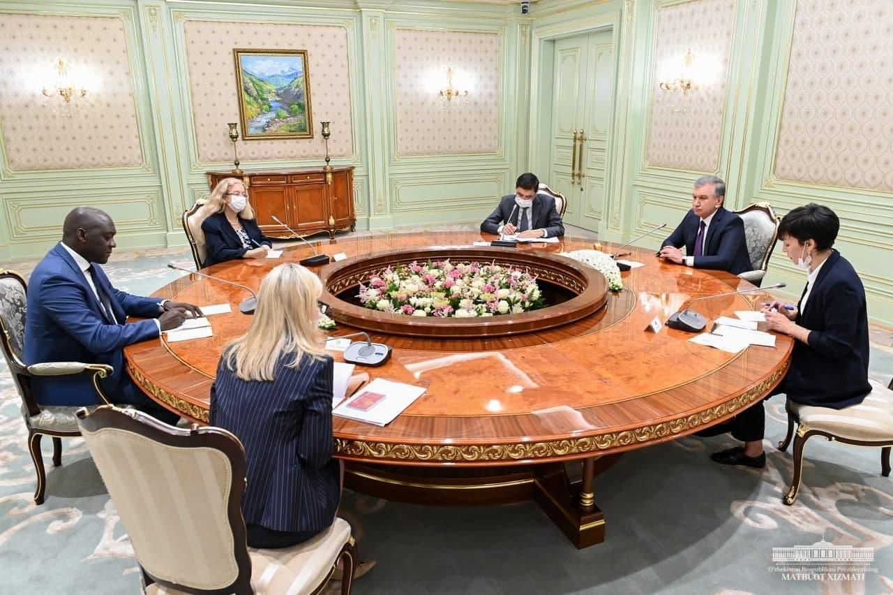 Шавкат Мирзиёев принял делегацию Международной финансовой корпорации