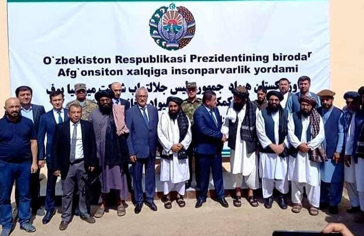 Узбекистан направил гуманитарный груз Афганистану
