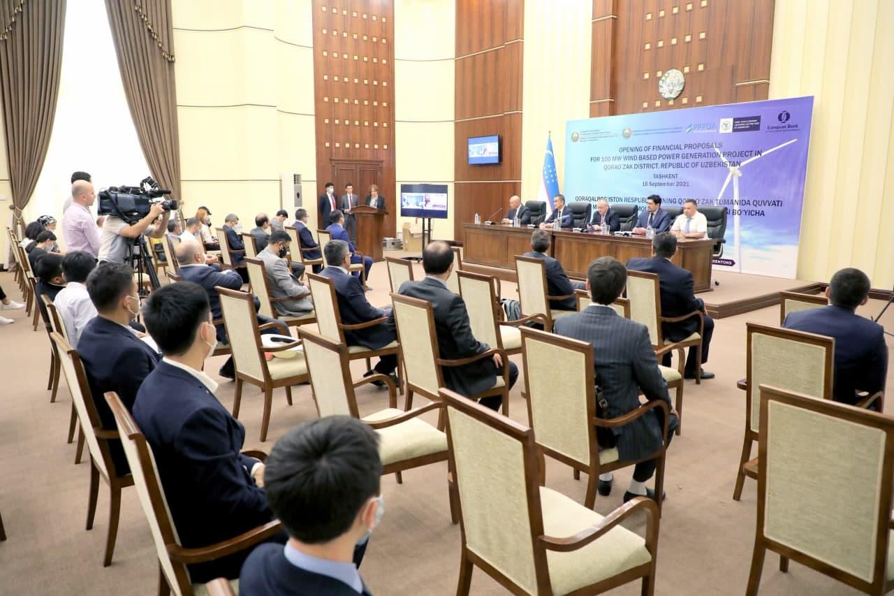 Определены инвесторы для строительства ветряной электростанции в Республике Каракалпакстан