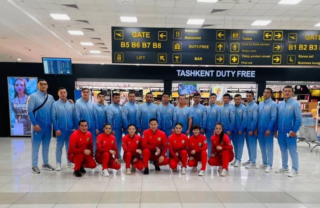 Военные боксеры Узбекистана отправились на Чемпионат Мира