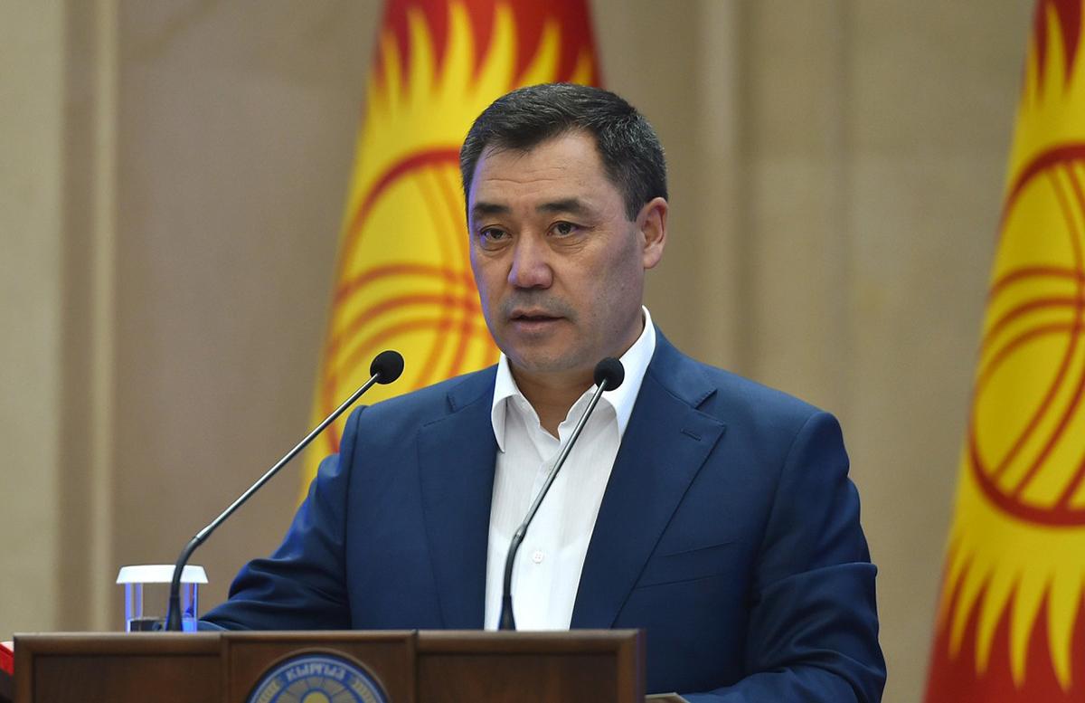 Жапаров обеспокоился безопасностью Центральной Азии из-за Афганистана