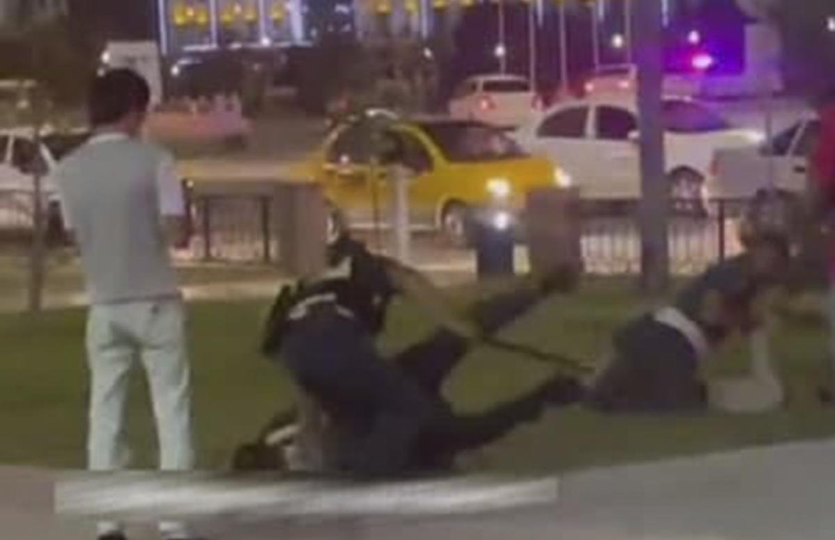 В Кашкадарье несколько сотрудников ППС избили граждан — видео