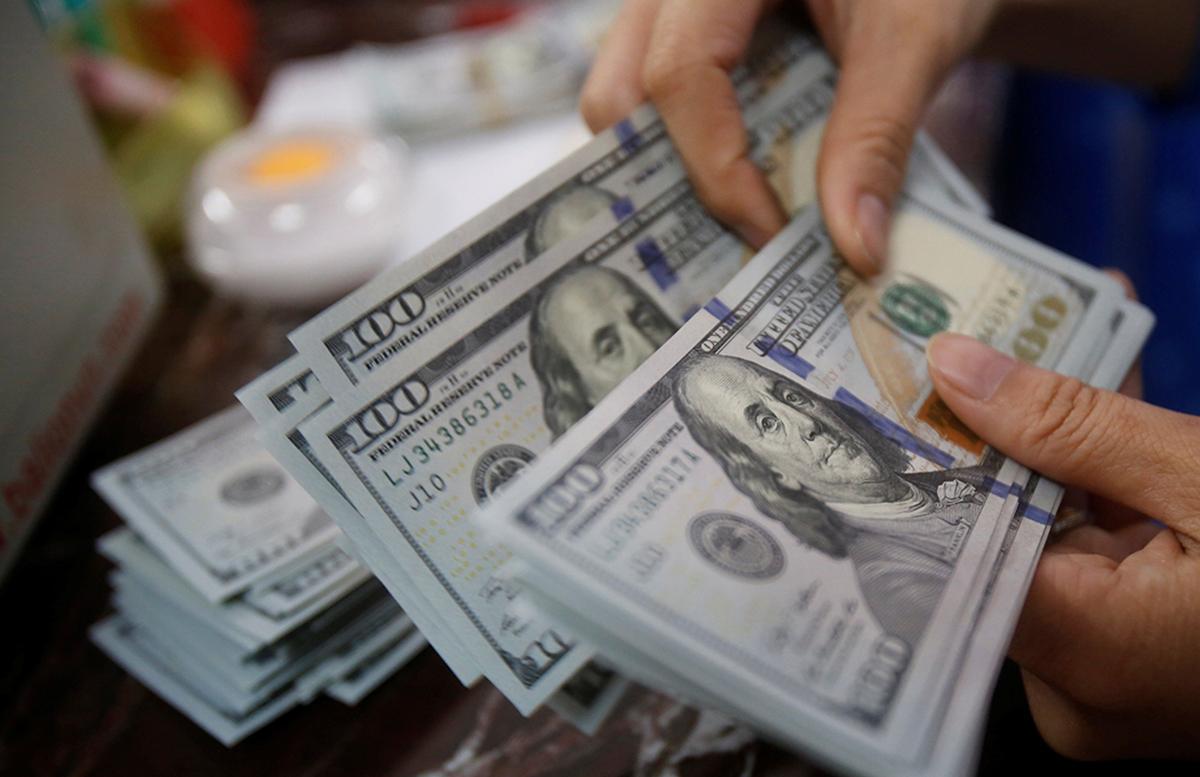 Доллар пошел на спад