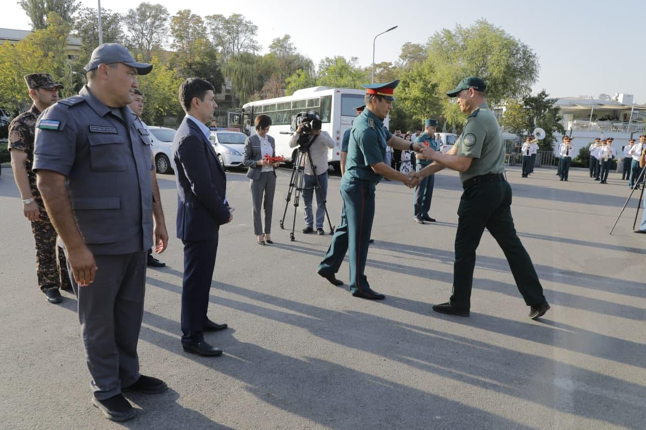 В Ташкенте прошла презентация экипировки экополиции