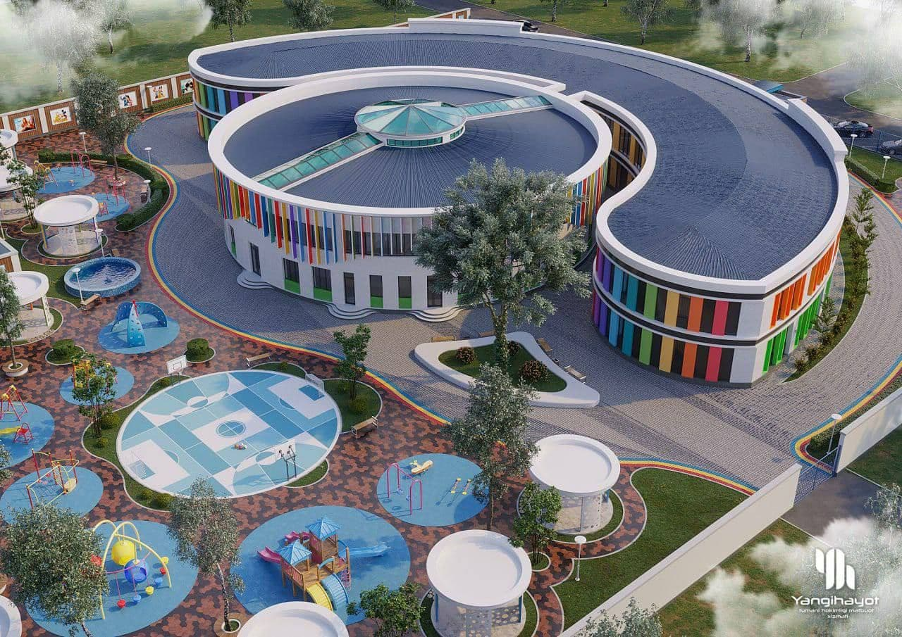 В Ташкенте построят детский сад без углов