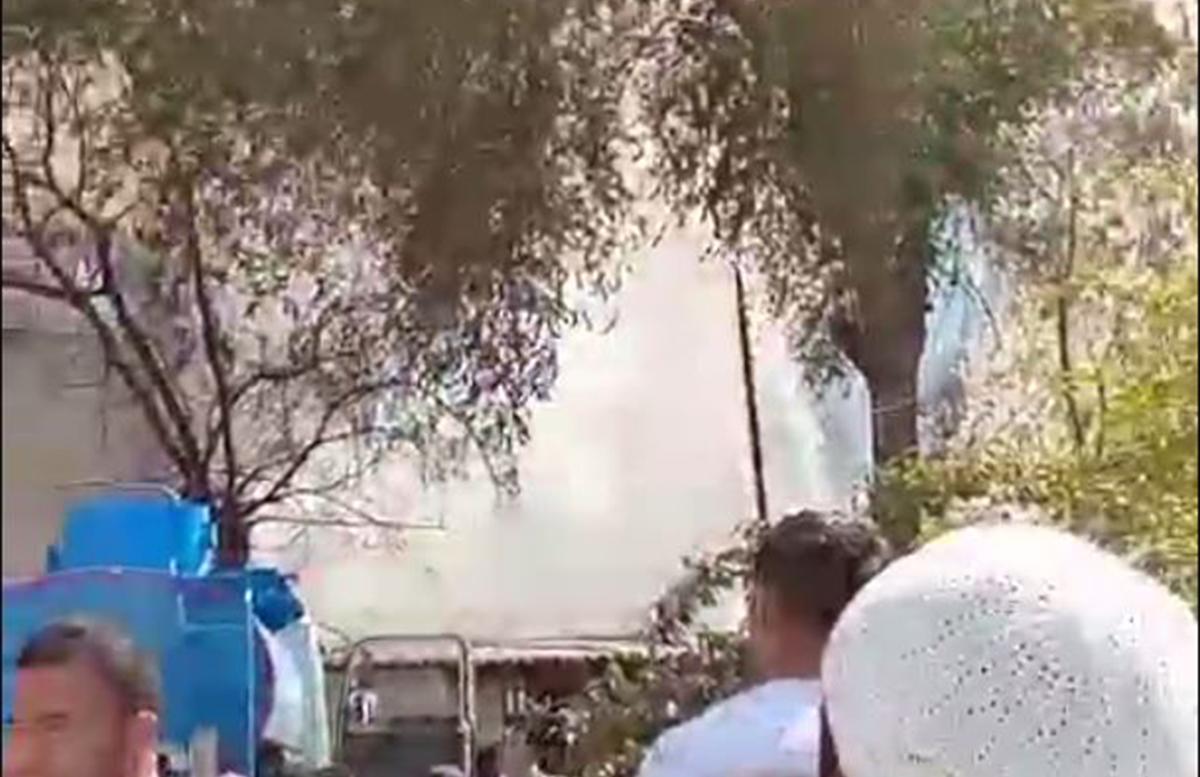 В одном из детских садов Андижана возник пожар — видео
