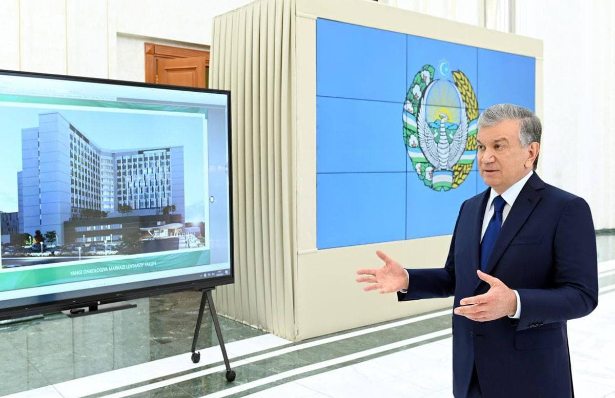 Шавкат Мирзиеев ознакомился с презентацией некоторых проектов
