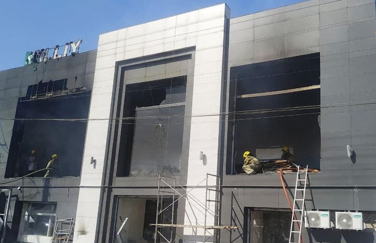 В Ташкенте произошел крупный пожар возле Нового ТашМИ — видео