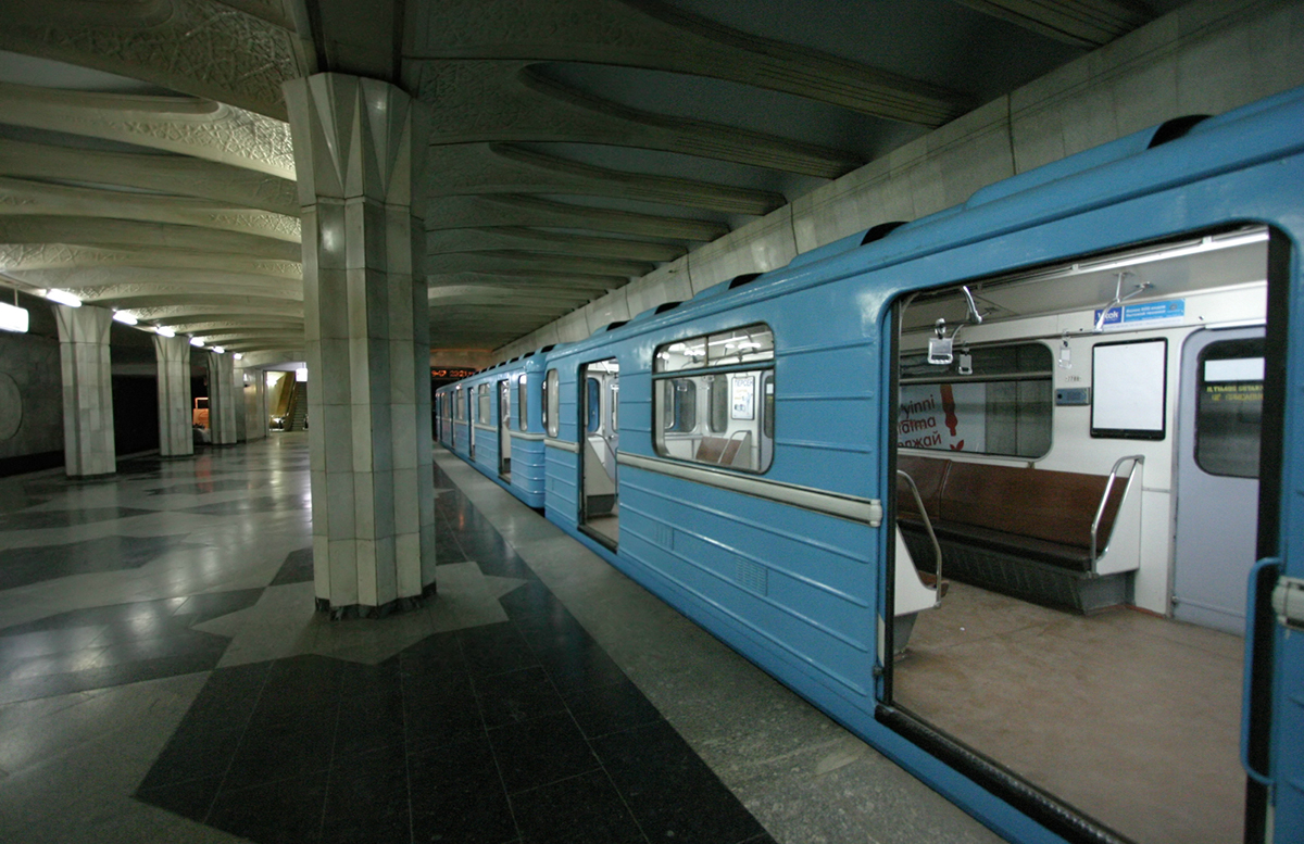 Очередная неисправность в ташкентском метро